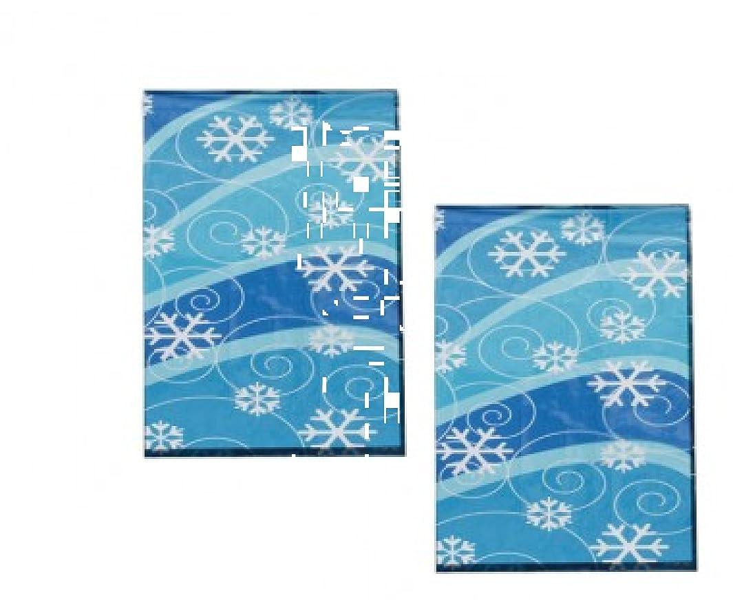 6 Dozen(72) Winter Snowflake Design Cellophane Gift/Goody Bags l208855077