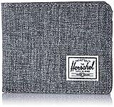 Herschel 10363-00919 Roy RFID Raven Crosshatch
