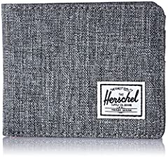 RFID blocking layer to help prevent the unwarranted scanning of identification, credit and debit cards. Signature striped fabric liner Multiple card slots Currency sleeve and additional storage