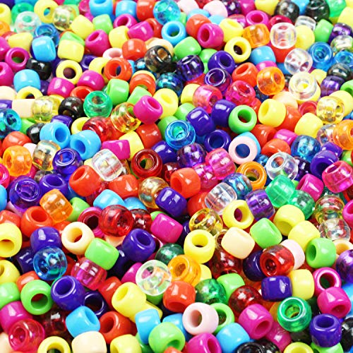 Goodlucky365 Perle perline colorate perline artigianato colori misti & Clear