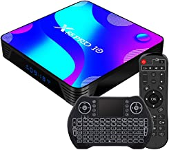Android TV Box 11.0, [2021 Newest] RK3318 USB 3.0 Ultra HD 4K HDR 4GB RAM 32GB ROM 2.4GHz/5.8GHz Dual Band WiFi with BT 4....