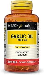 Best garlic oil 1000 mg mason Reviews