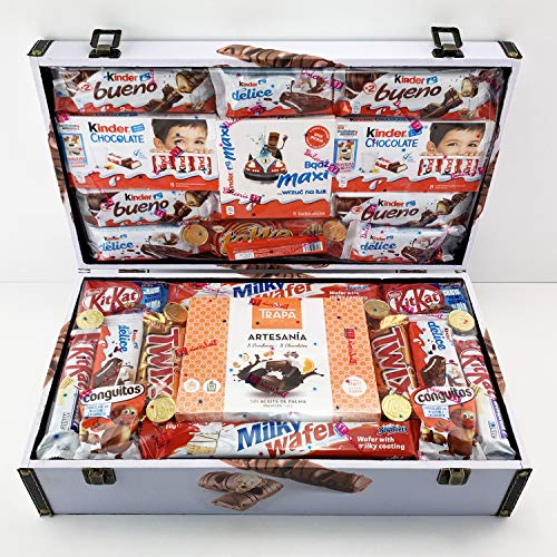 Cofre Regalo Kinder Grande - Kinder Bueno Tokke Kinder Chocolate Maxi Kit Kat Choco Wafer Conguitos