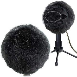 certainoly Futrzany zewnętrzny mikrofon na przednią szybę Muff wewnętrzna szyba przednia osłona przed wiatrem spersonalizo...