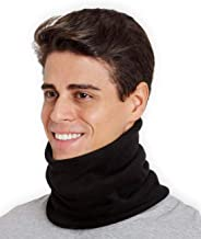 Tough Headwear Fleece Neck Warmer - Neck Gaiter Tube, Ear Warmer Headband & Face Mask. Ultimate Thermal Retention, Versatility & Style. Constructed with Super Soft Fleece & Microfiber