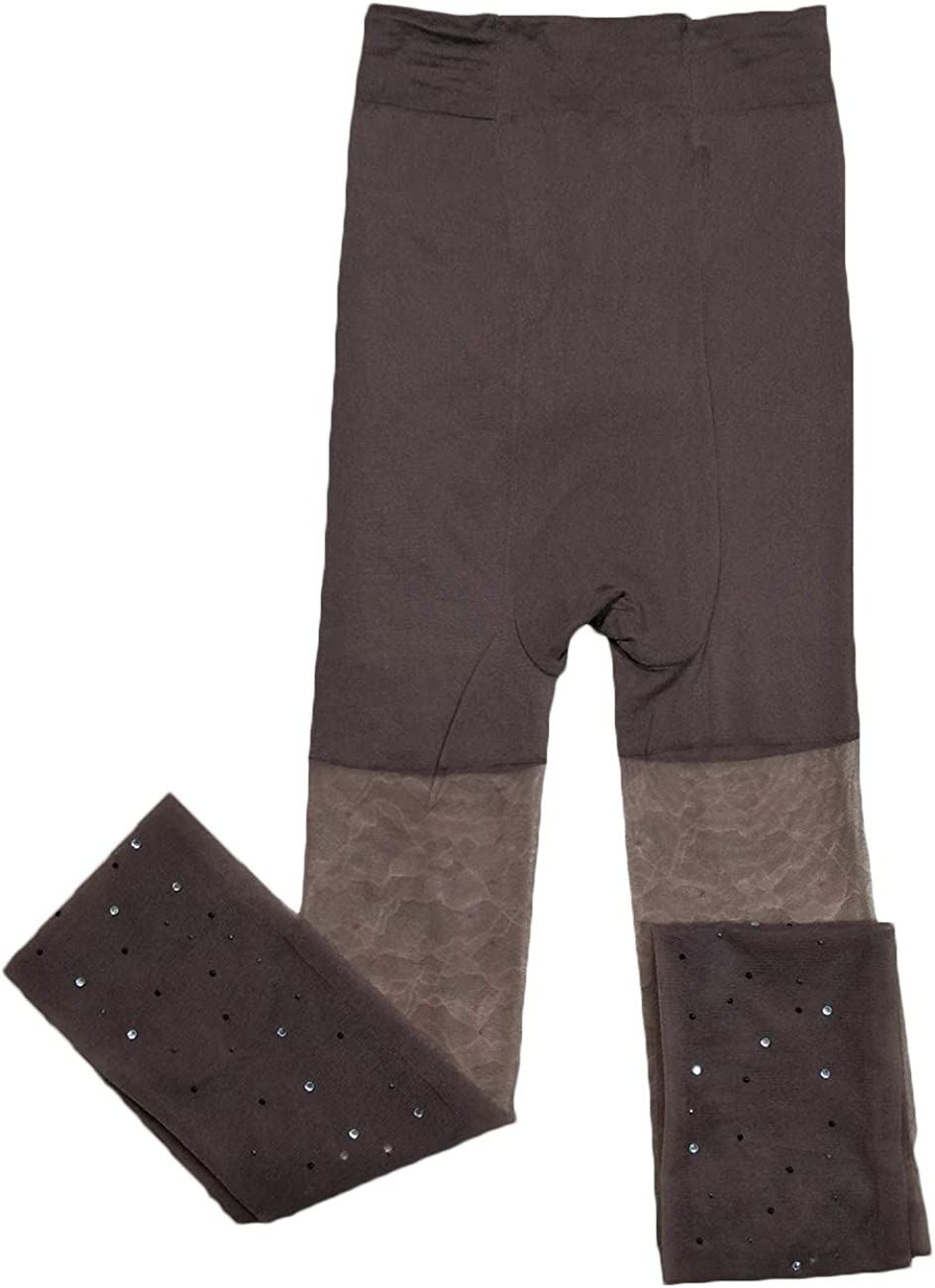 Women's 2 Pack Diamond Patch Long Lace Socks Hosiery Tights Sexy Sheer Nightwear High Stockings Pantyhose