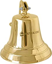 Nautical Cove Solid Brass Ships Bell 8