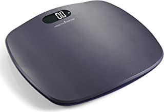 HealthSense Ultra-Lite PS 126 Digital Personal Body Weighing Scale, Strong & Best ABS Build Electronic Bathroom Scales & W...