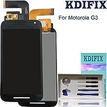 KDIFIX for Motorola Moto G 3rd Gen G3 2015 XT1540 XT1541 XT1543 XT1544 XT1548 LCD Touch Screen Assembly with Full Professional Repair Tools kit (Black)