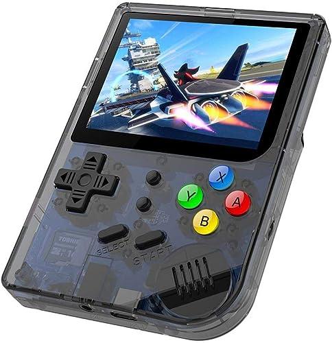 LayOPO RG300 Console de Jeu, Ouverture Linux Tony System Rétro 16 Go Support voiturete TF 32 Go écran 3 Pouces Plus de 3000 Jeux portable Vidéo Console