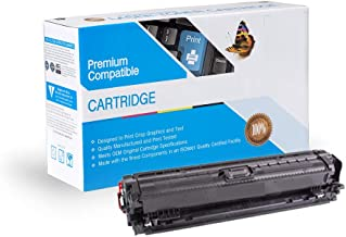 Ink Now Compatible Toner Replacement for HP CE740A, Works with: Color Laserjet Professional CP5220, CP5225, CP5225DN, CP5225N (Black)