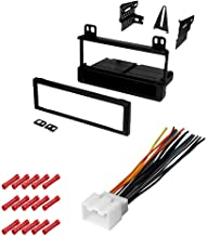 CACHÉ KIT1017 Bundle with Car Stereo Installation Kit for 2004 – 2005 Ford Escape – in Dash Mounting Kit, Harness for Sing...