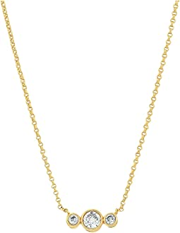Kate Spade New York - Bright Ideas Round Linear Mini Pendant Necklace