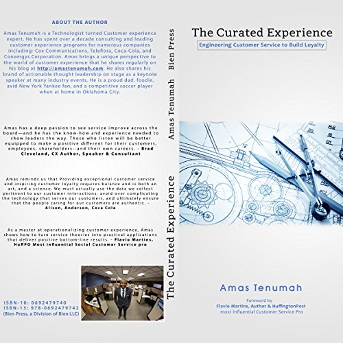 The Curated Experience audiobook cover art