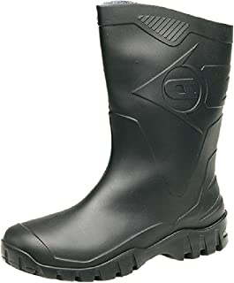 ecb7be1cc2c6 DUNLOP Short Leg Half-Height Wellies Easier On   Off Good For Wider Calf  Fitting