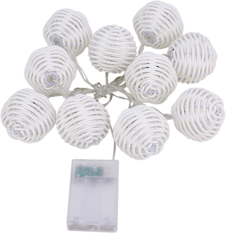 Heaveant Rattan Ball 10Pcs Decorative Rattan Balls Ornaments Wed