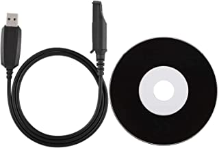 Sxhlseller Cable de Programación Walkie Talkie Cable de Programación USB para BaoFeng UV-9R BF-R760 BF-9700 BF-A58 GT-3WP ...