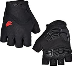 FIRELION Breathable Cycling Gloves (Half Finger) - Gel Pad Anti-Slip Shock-Absorbing MTB DH - Mountain Road Bike Bicycle G...