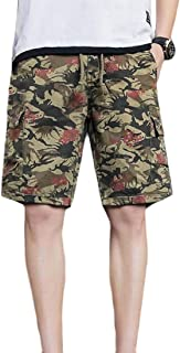 maweisong Men Casual Loose Fit Cargo Shorts Outdoor Sport Shorts Pants