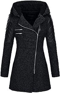 d0205984ad2 LISTHA Leather Jacket Coat Plus Size Women Winter Woolen Long Overcoat  Outwear