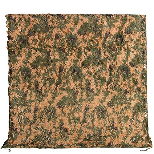 Camo Netting 13x16.5ft Jungle Digital Camouflage Net for Camping Military Hunting Shooting Sunscreen Nets