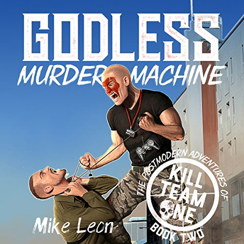 Godless Murder Machine audiobook cover art