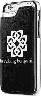 Breaking Benjamin ラグランス 03 IPhone 7/8 ケース 手帳ケース 財布型 耐衝撃 高級 合皮レザー カー 内側TPU スタンド機能 カードポケット 全面保護 スマホケース IPhone 7/8 手帳 耐摩擦 人気 ...