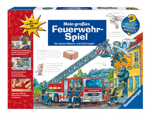 Ravensburger 24230 - Wieso? Weshalb? Warum?: Mein Feuerwehrspiel