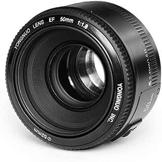 YONGNUO YN50mm F1.8 単焦点レンズ キャノン EFマウント フルサイズ対応 標準レンズ