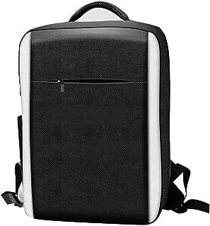 Bärväska kompatibel med PS5 spelkonsol, bärbar reseryggsäck kompatibel med PS5 spelkontroll värd speltillbehör förvaringsv...
