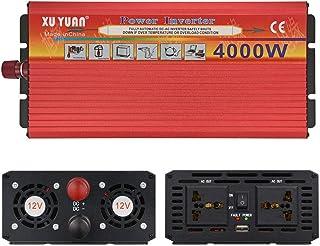 110 V Dual USB LED Car Power Inverter Converter Modified Wave Nero Knossus da 4000 W 12V a 220 V