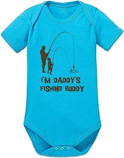 "Shirtcity Daddy""s Fishing Buddy Baby Strampler by"