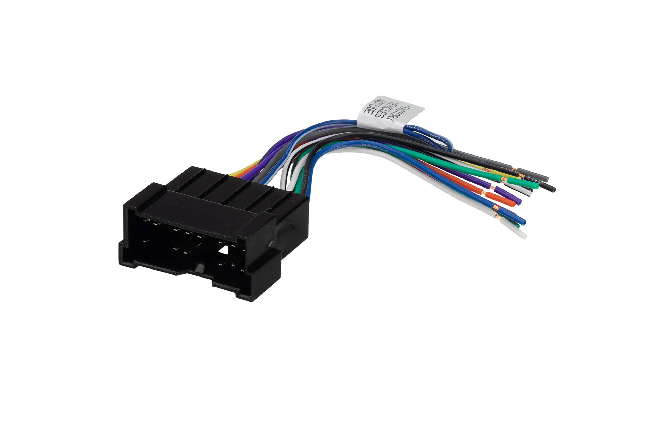 Amazon.com: Scosche HY03B Compatible with Select 2000-06 Hyundai  Power/Speaker Connector/Wire Harness for Aftermarket Stereo Installation  with Color Coded Wires: Car ElectronicsAmazon.com