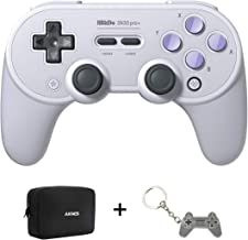 SN30Pro+ Wireless Controller for Nintendo Switch with Carring Bag, Bluetooth Gamepads with Ultimate Software, Game Wireless Controller for Steam, MacOS, PC, Android & Raspberry Pi (SN Edition)
