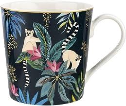 Portmeirion Sara Miller Tahiti Mug, Lemur, Ceramic