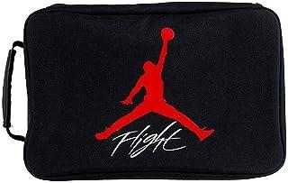 Jordan The Shoe Box Sneaker Storage Bag (One Size, Black/Wolf Grey)