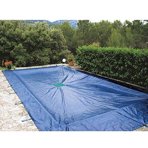 Bâche 6x10m pour piscine rectangulaire 140g  m²