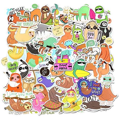Animal Stickers Cartoon Diy Bicycle Laptop Tablet Travel Case Guitar Fridge Phone 50 Pcs