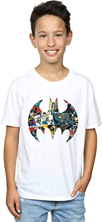 DC Comics Niños Batman Comic Book Logo Camiseta
