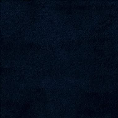 Shannon Fabrics Shannon Minky Solid Cuddle 3 Navy Fabric By The Yard