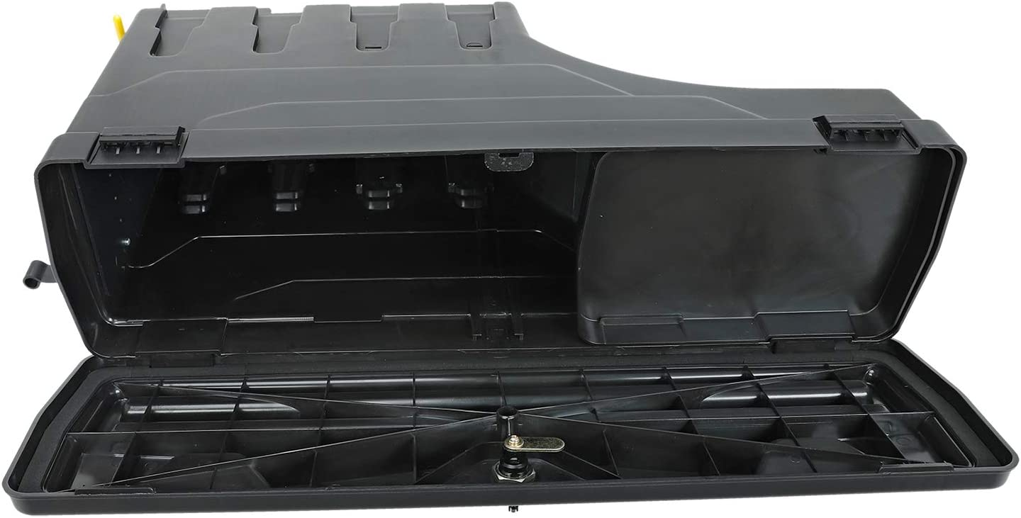 LucaSng Truck Bed Storage Box Tool Box Compatible with Tacoma 2005-2019 Rear Right Passenger Side Lockable Storage Box Replaces SC401P