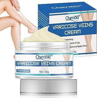 Varicose Veins Cream, Varicose Vein Treatment, Improves Varicose Veins and Spider Veins, Improves the Appearance of Leg, Relieves Varicose Vein Discomfort, Pain, Strain(50g)