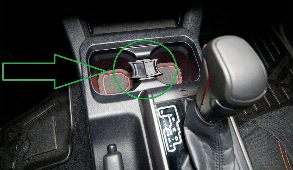 Center Max 45% OFF Middle Console Cup Holder Divider Partitio Sale price Insert Barrier