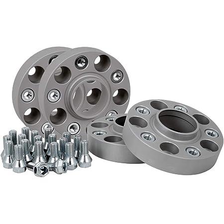 Spurverbreiterung Aluminium 4 Stück 30 Mm Pro Scheibe 60 Mm Pro Achse Inkl TÜv Teilegutachten Abe Auto