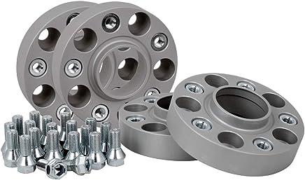 20 mm por disco//40 mm por eje 4 unidades Separadores de acoplamiento de aluminio incluye certificado de piezas T/ÜV.