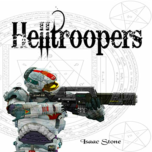 Helltroopers: A Paranormal Space Opera Adventure audiobook cover art