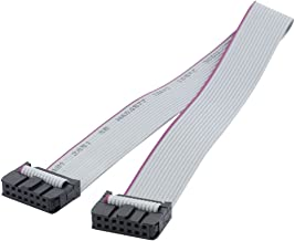 uxcell 2.54mm Pitch 14 Pin Female to Female IDC Connector Ribbon Cable