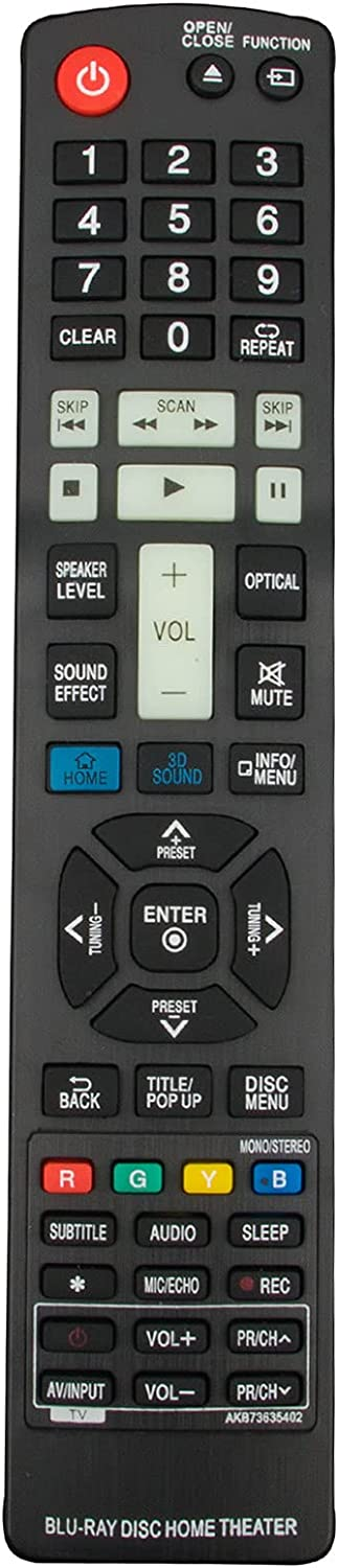 AKB73635402 Replacement Brand Cheap Sale Venue Easy-to-use Remote AIDITIYMI for fit Control