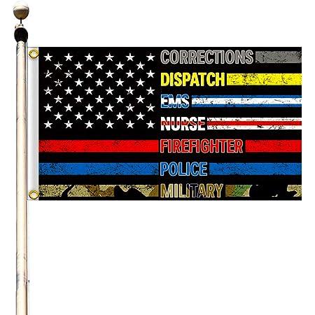 American Made U.S Police et Premier Responder option Flag dissimulée Gun cabinet