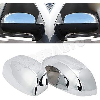 2014-2018 Chevy Silverado 2D GLOSS BLACK Door Handle Covers+Half Mirror+Tailgate